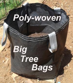 Polywoven Big Tree Bags
